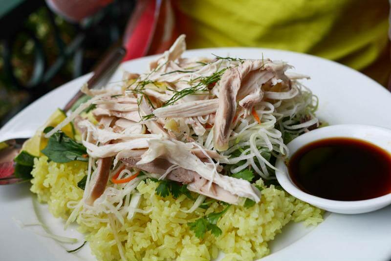 Comida local en Hoi An