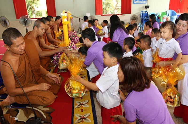 La fiesta Wan Khao Phansa