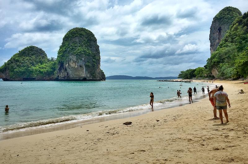 Playas en Julio Tailandia