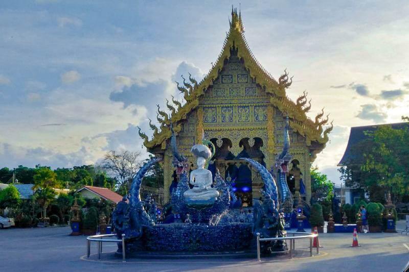 Templo azul Chiang Rai