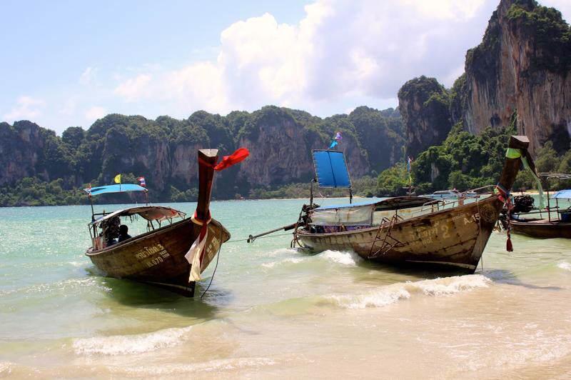 Playas e islas e Tailandia en Septiembre
