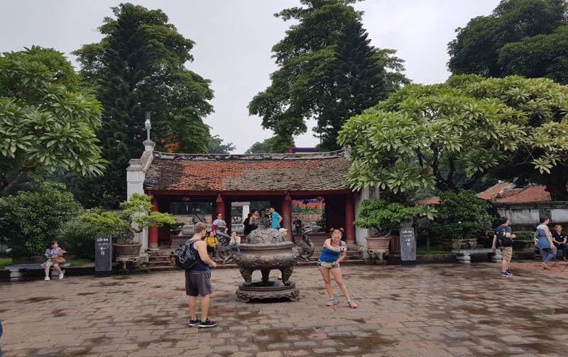 Hanoi en época de monzón en vietnam por zonas