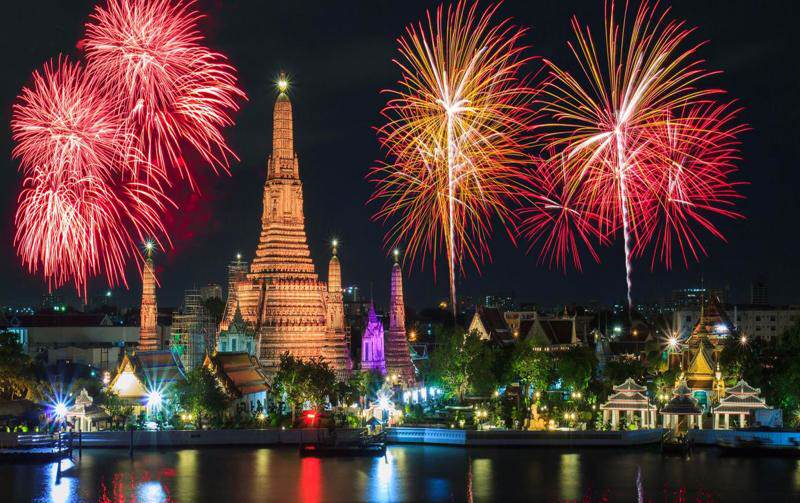 Celebracion de la Navidad en Tailandia