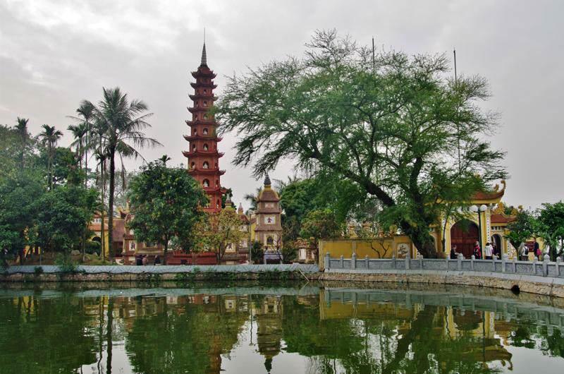 Visitas en Hanoi