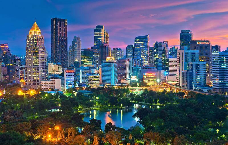 Ciudades de Tailandia