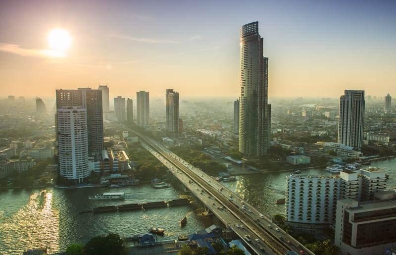 la temperatura en Bangkok