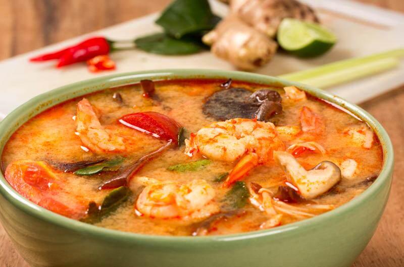 Tom yam Kung, el plato más t´pico de la comida tailandesa