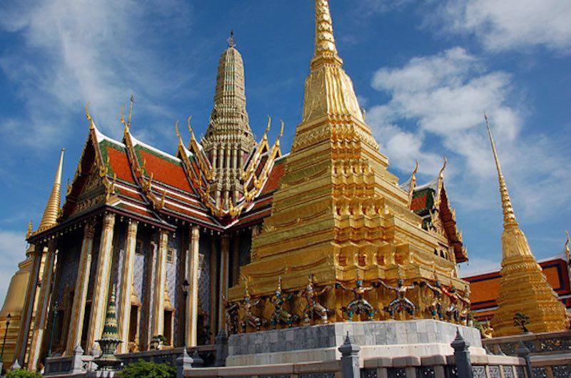 El Palacio Real en Bangkok