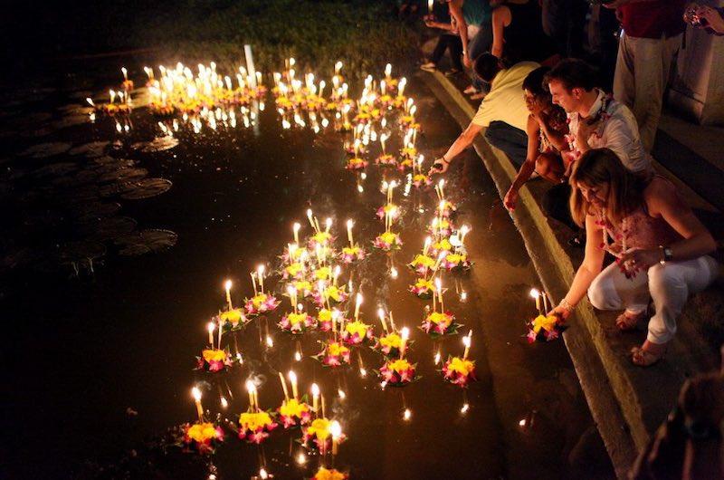 Festival de Loy Khratong Tailandia