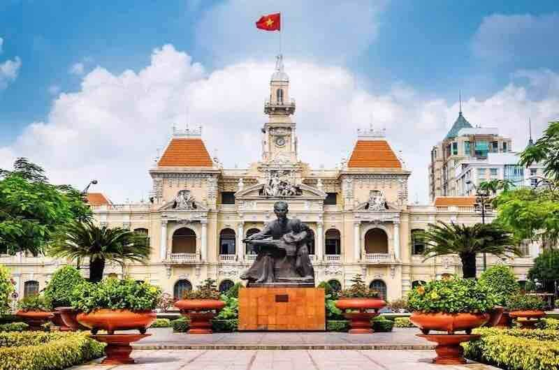 Ruta por vietnam de Norte a Sur