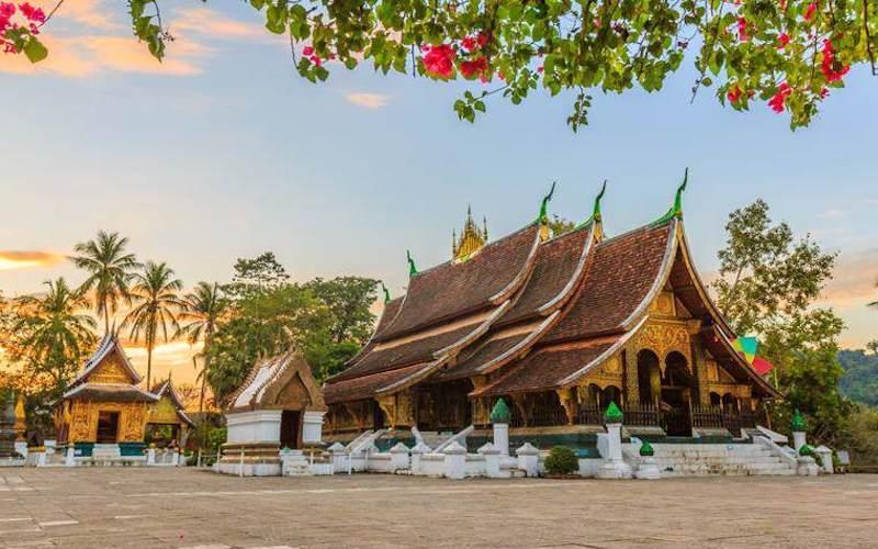 Templo Wat Xieng Thong en Luang Prabang