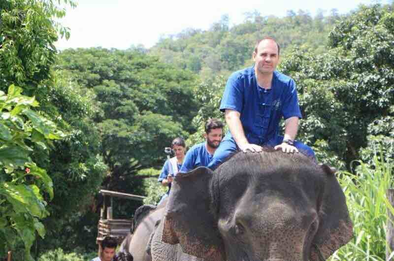 Excursion Thai Elephant Home en Chiang Mai
