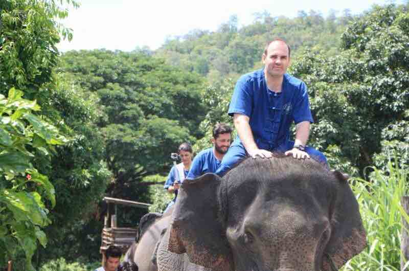 Thai Elephant Home en Chiang Mai