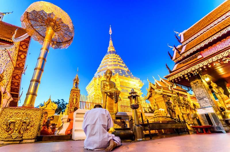 Visitar en Tailandia Wat Phra That Doi Suthep