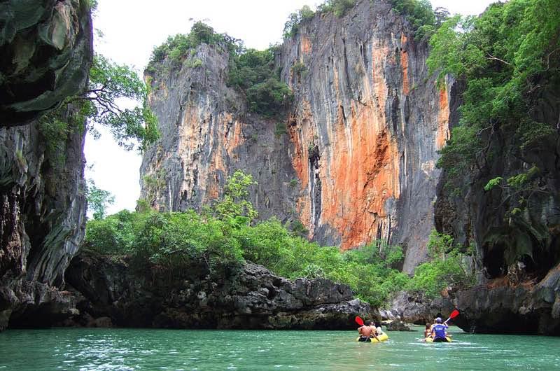la Bahía de Phang Na