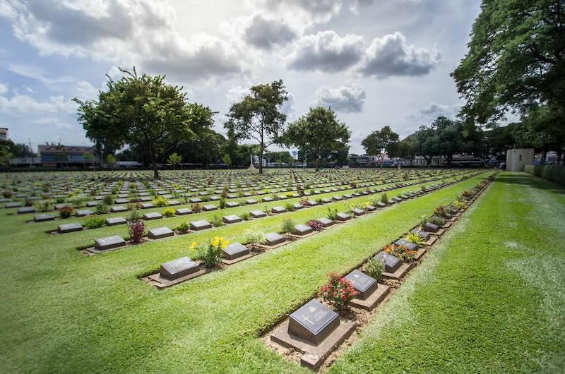 Que ver en Kanchanaburi El cementerio