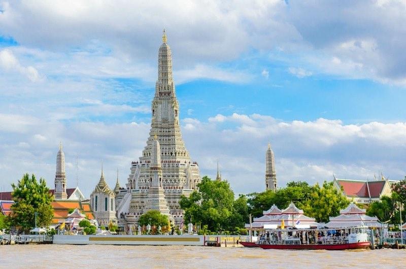 Ver en Bangkok El templo de Wat Arun
