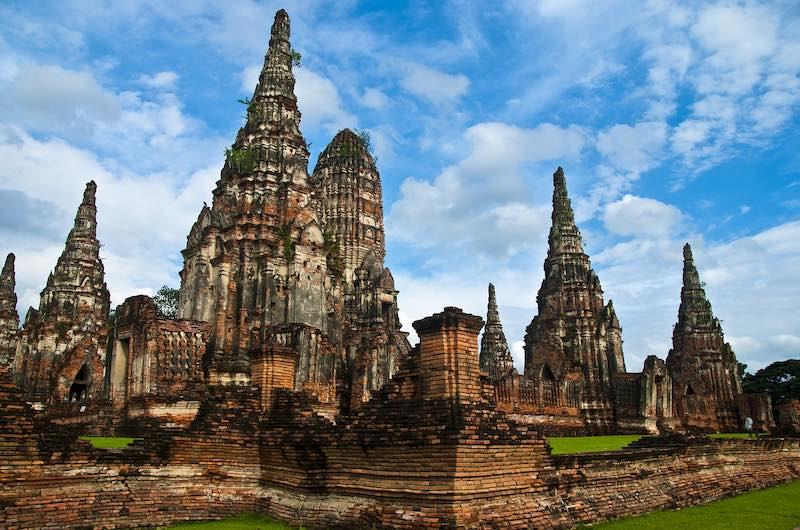 Ver en Bangkok Las Ruinas de Templos de Ayuthaya