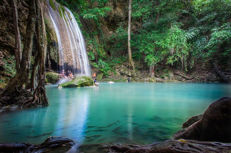 Que ver en Tailandia Las famosas Cascadas de Erawan