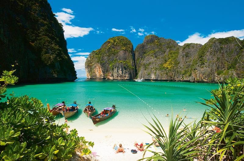 Maya Bay la isla Phi Phi
