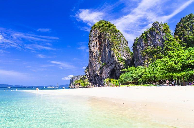 Que ver en Tailandia Playas de Krabi