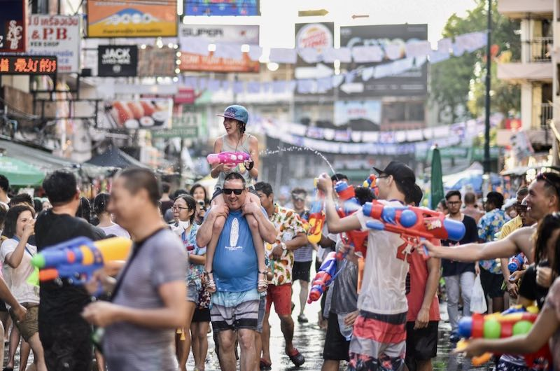 Songkran la fiesta del agua