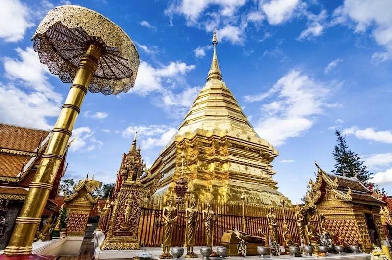 Wat Phra That Doi Suthep en nuestra ruta por tailandia