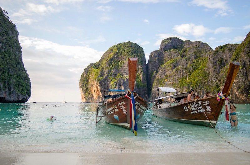 como es el verano en tailandia: islas Phi Phi