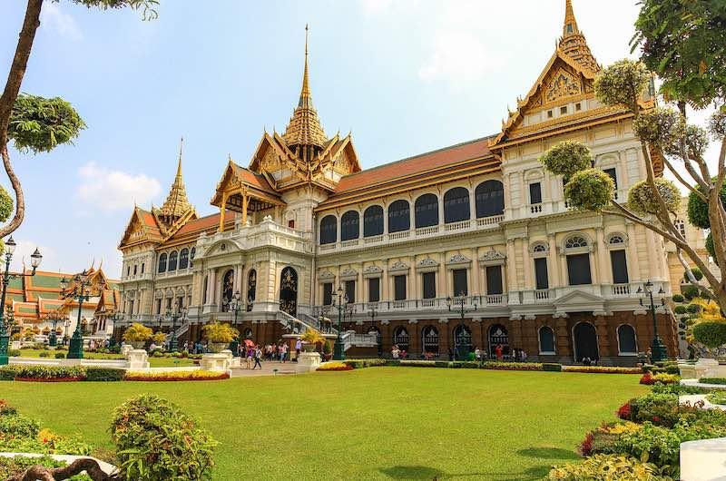 Visitar Tailandia el palacio real