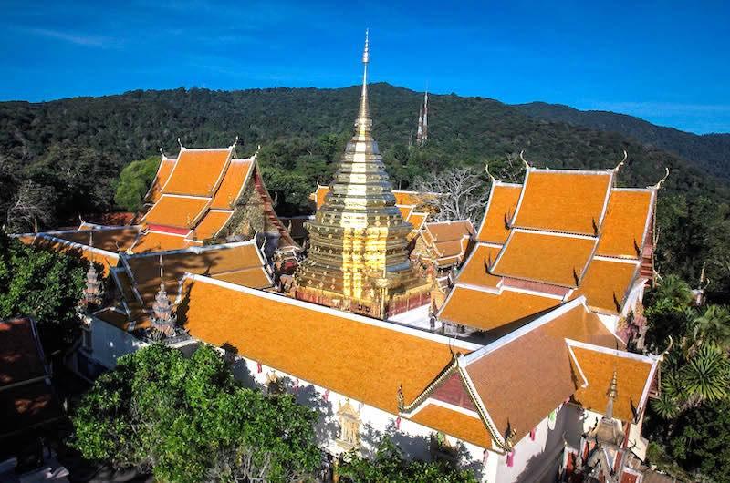 Tailandia en una semana: El templo de Doi Suthep