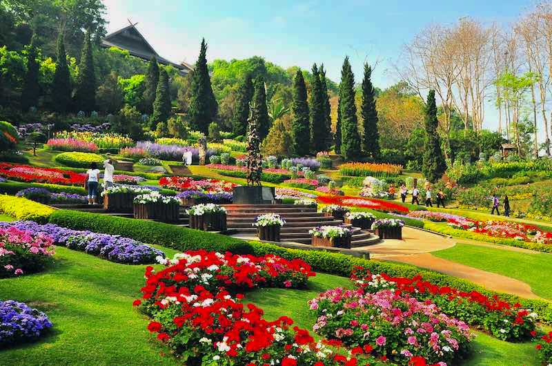 Jardines de Mae Fah Luang
