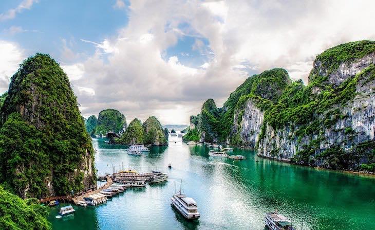 Viajar a Vietnam en diciembre: Halong Bay