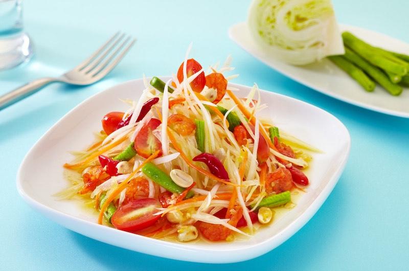 La gastronomía tailandesa: Som Tam