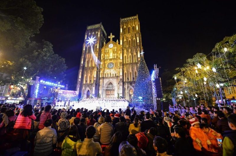 Viajar a Vietnam en diciembre: la navidad en Hanoi