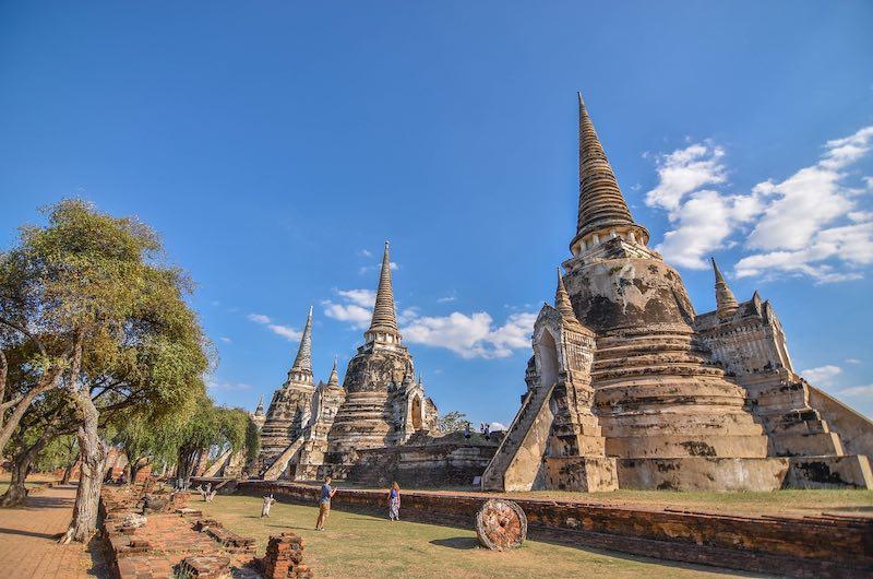 Tailandia en 12 días: Visita a las ruinas de Ayutthaya