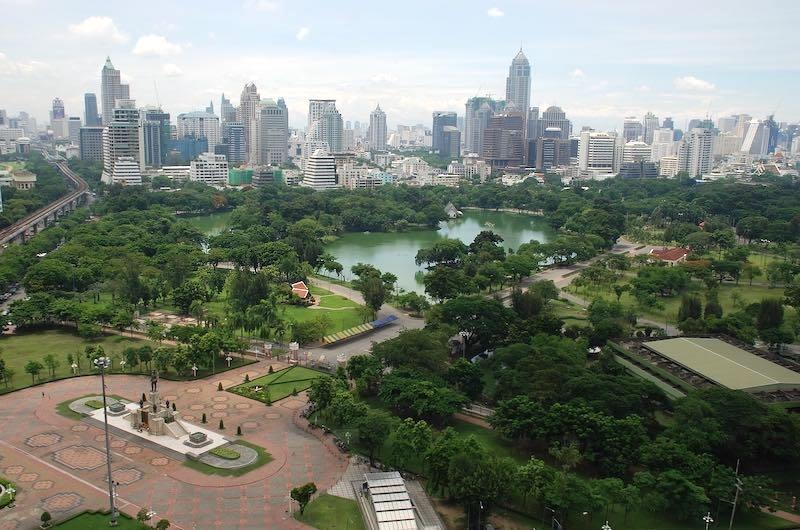 El clima en Tailandia