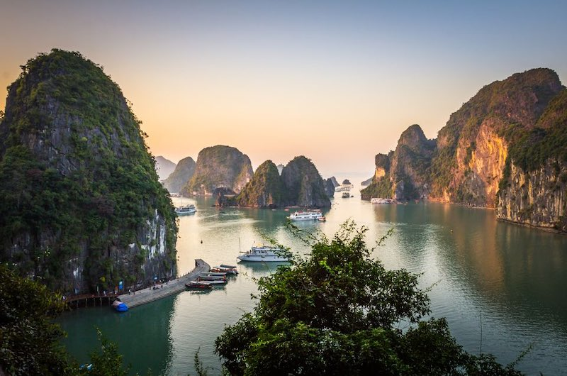 la bahía de Ha Long