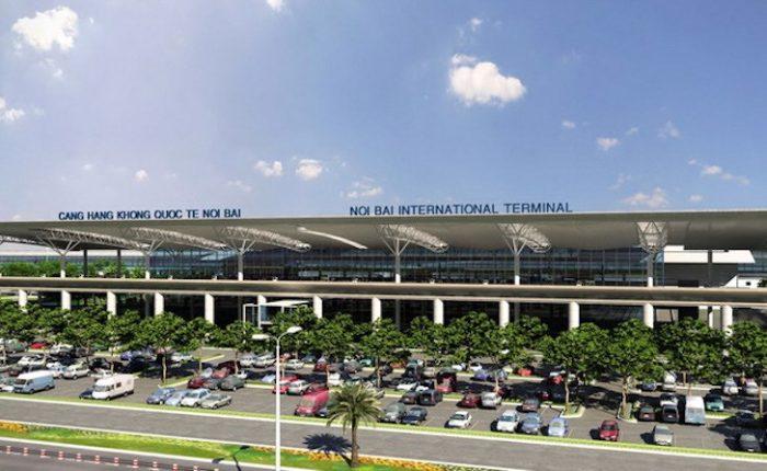 el aeropuerto de Hanoi Noi Bai