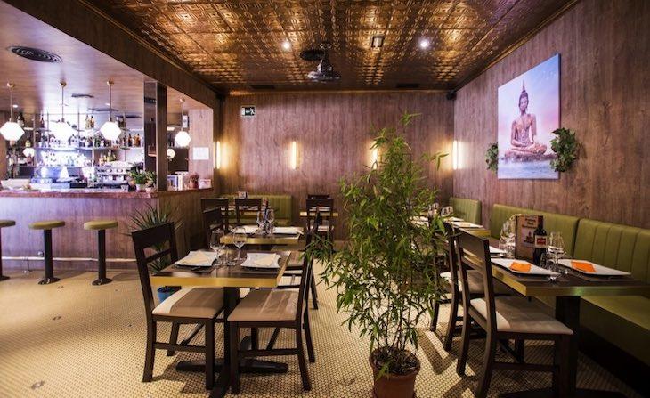 Donde comer tailandés en Madrid