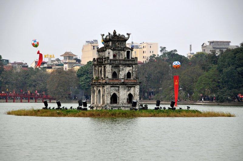 El lago Hoam Kiem