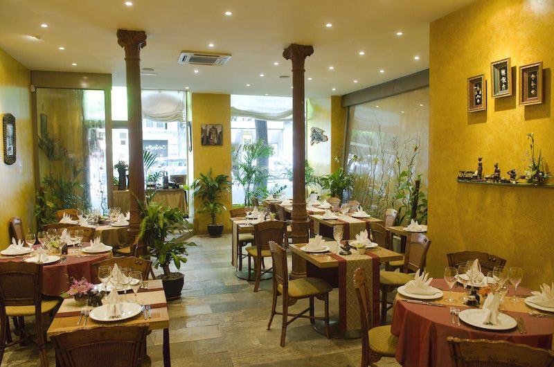 comer tailandés en Madrid : El restaurante Thaidy