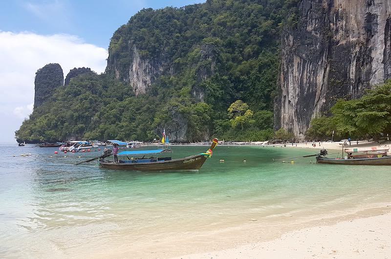 que ver en el sur de Tailandia : La isla de Hong en Krabi