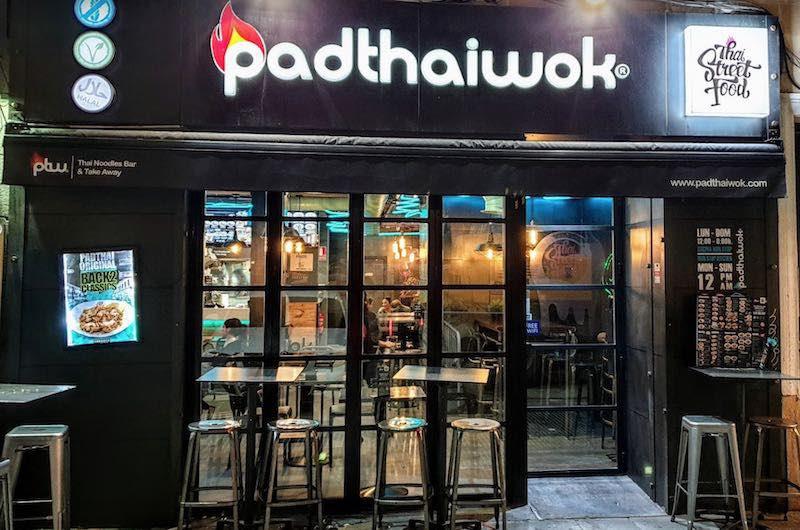 comer tailandés en Madrid : Padthaiwok