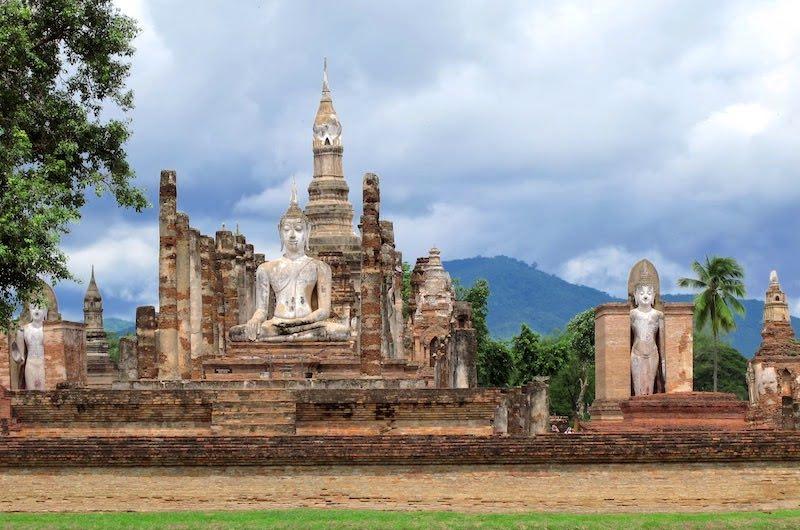 El Parque Histórico de Sukhothai