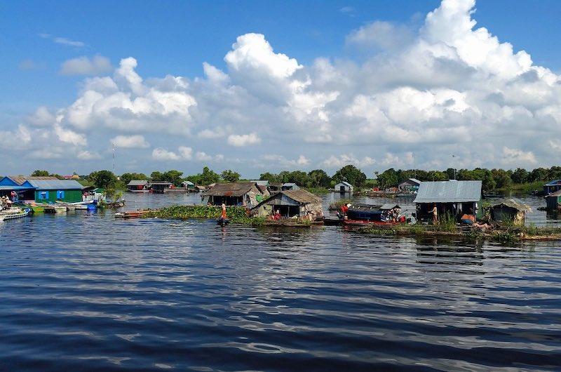El lago de Tonle Sap
