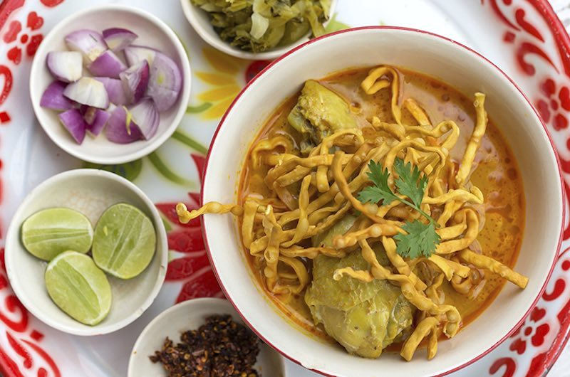 recetas tailandesas : Khao Soi