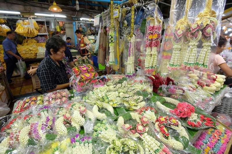 La importancia de las flores en la cultura tailandesa