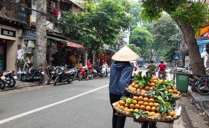 La temperatura de Vietnam en Agosto