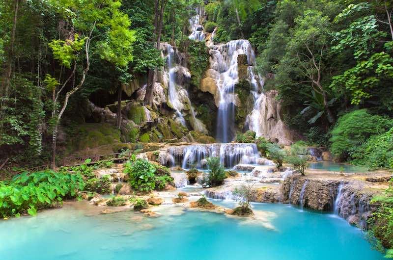 Las cascadas de Kuang Si