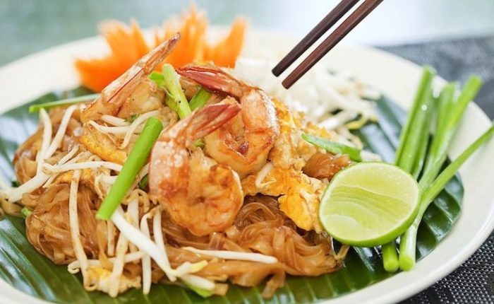 Recetas tailandesas Pad Thai